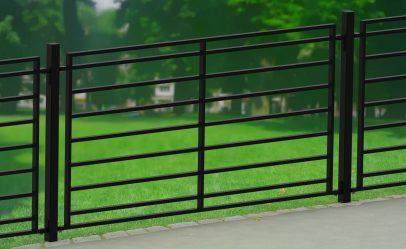 ogrodzenie flatfront